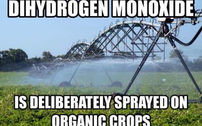 Dihydrogen Monoxide is in my Pipes, Should I be Worried