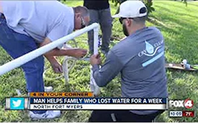 Good samaritan fixes broken water pump after seeing Fox 4 story